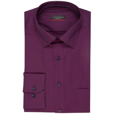 Eterna Hemd Modern Fit violett