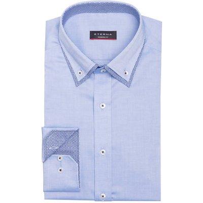 ETERNA Eterna Hemd Modern Fit blau