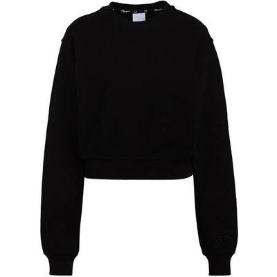 REEBOK Reebok Cropped-Sweatshirt schwarz