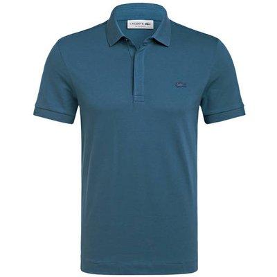 LACOSTE Lacoste Piqué-Poloshirt Paris Regular Fit blau