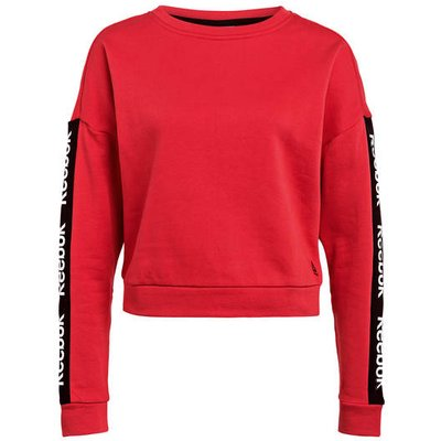 REEBOK Reebok Sweatshirt Essentials Logo Crew rot