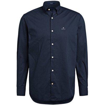 Gant Hemd Comfort Fit blau