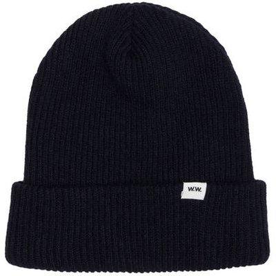 Wood Wood Mütze blau