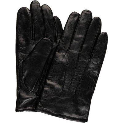 Karl Lagerfeld Lederhandschuhe schwarz