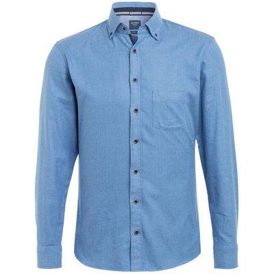 OLYMP Olymp Hemd Casual Modern Fit blau