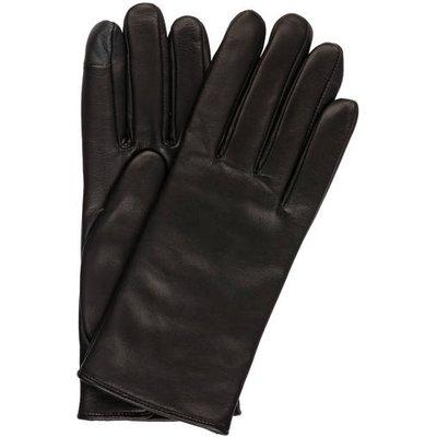 Calvin Klein Lederhandschuhe schwarz