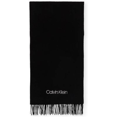 Calvin Klein Schal schwarz