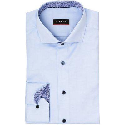 Eterna Hemd Modern Fit blau