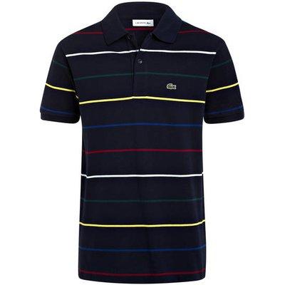 LACOSTE Lacoste Piqué-Poloshirt blau