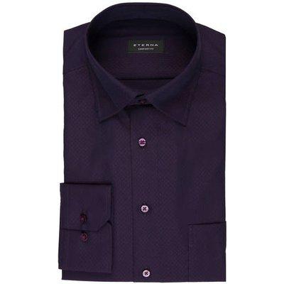 ETERNA Eterna Hemd Comfort Fit violett