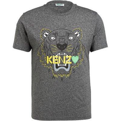 Kenzo T-Shirt Tiger grau