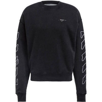 Off-White Sweatshirt schwarz