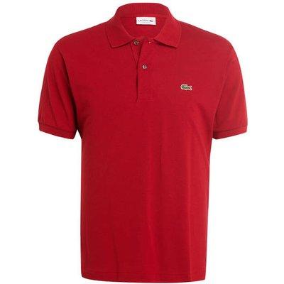 Lacoste Piqué-Poloshirt Classic Fit rot