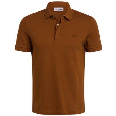 LACOSTE Lacoste Piqué-Poloshirt Paris Regular Fit braun