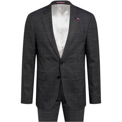 Tommy Hilfiger Anzug Slim Fit grau
