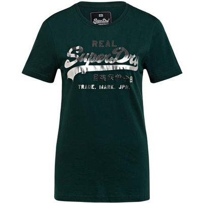 Superdry T-Shirt gruen