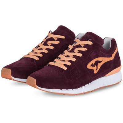 Kangaroos Sneaker Coil r1 Shiraz rot