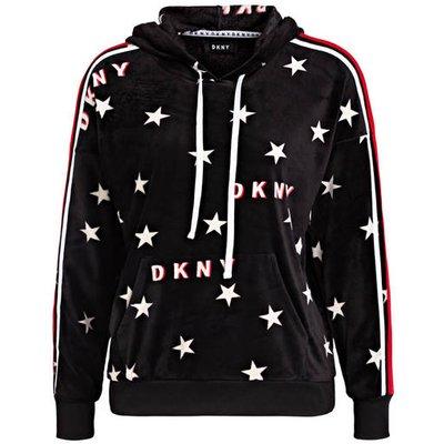Dkny Lounge-Hoodie In Nicki-Qualität schwarz