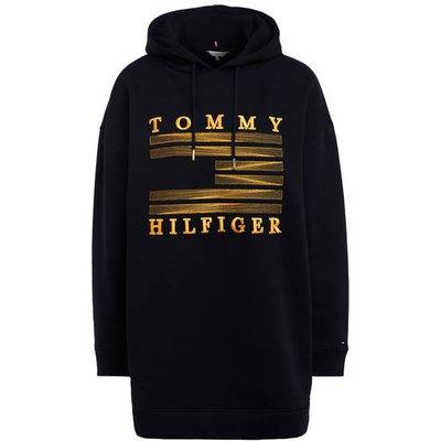 TOMMY HILFIGER Tommy Hilfiger Hoodie-Kleid blau