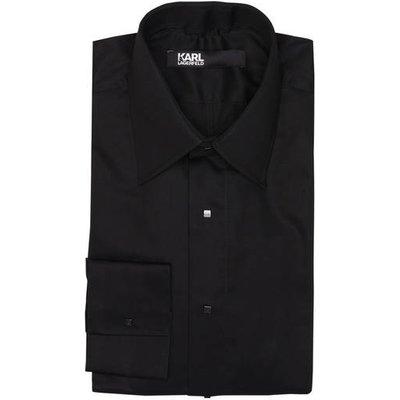 Karl Lagerfeld Hemd Modern Fit schwarz