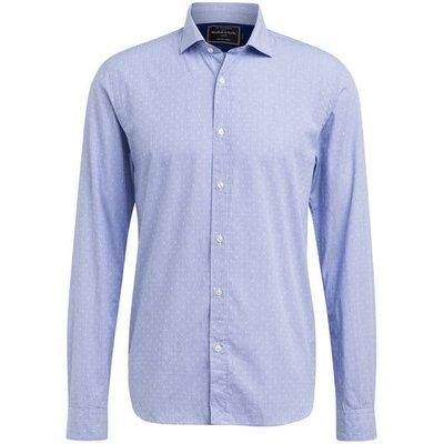 Scotch & Soda Hemd Regular Fit blau