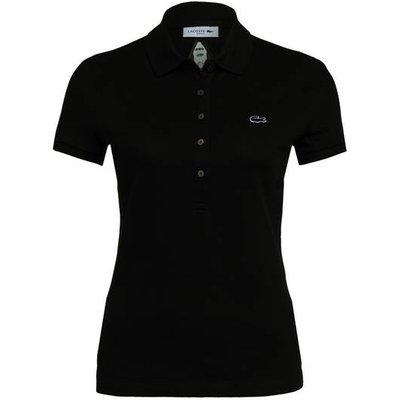LACOSTE Lacoste Piqué-Poloshirt schwarz