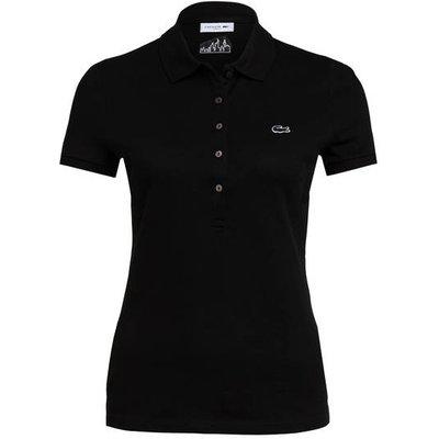 Lacoste Piqué-Poloshirt schwarz