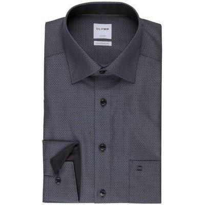 Olymp Hemd Luxor Comfort Fit schwarz