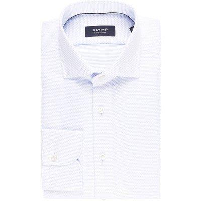 Olymp Signature Hemd Tailored Fit blau