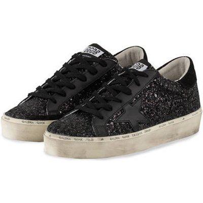 Golden Goose Deluxe Brand Sneaker Hi Star schwarz
