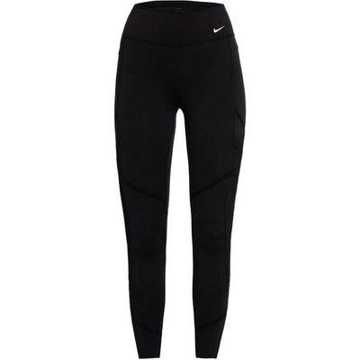 NIKE Nike 7/8-Tights One Icon Clash Mit Mesh-Einsätzen schwarz