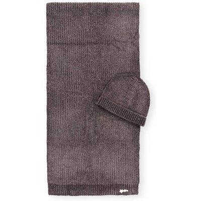 Ted Baker Set: Schal Und Mütze Hudah grau