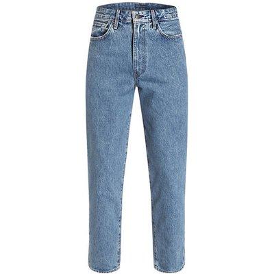 Levi's® Destroyed Jeans Draft Tapered Fit Mit Verkürzter Beinlänge blau
