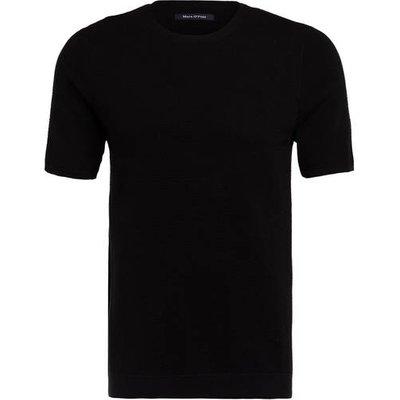 Marc O'polo Kurzarm-Pullover schwarz