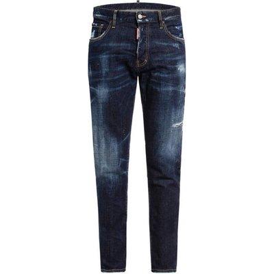 dsquared2 Destroyed Jeans Sexy Mercury Slim Fit blau