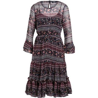 Tigha Kleid Belana Mit 3/4-Arm rot