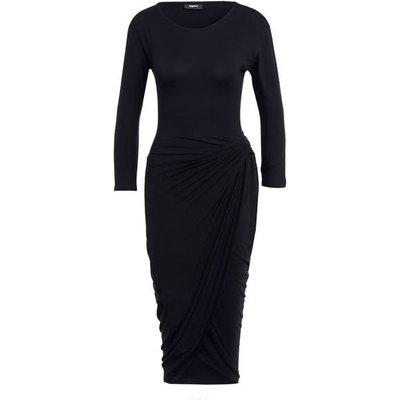 Tigha Kleid Bess Mit 3/4-Arm schwarz