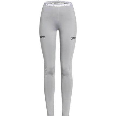 Off-White Leggings grau