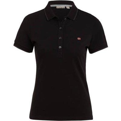 Napapijri Piqué-Poloshirt Elma schwarz