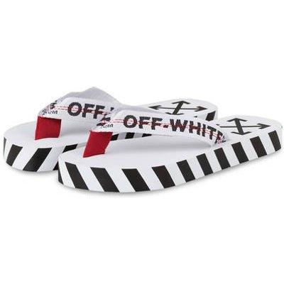Off-White Zehentrenner weiss