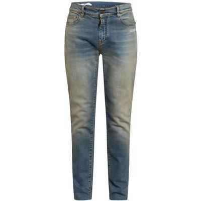 Off-White Jeans Skinny Fit blau