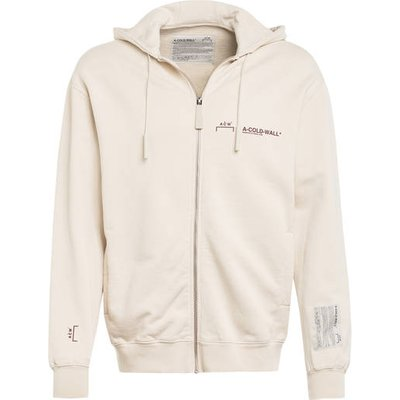 A-Cold-Wall* Oversized-Sweatjacke beige