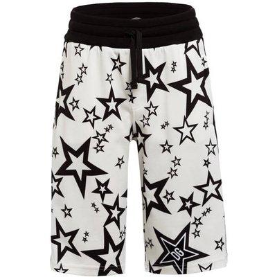 DOLCE & GABBANA Dolce&Gabbana Shorts Mit Galonstreifen weiss