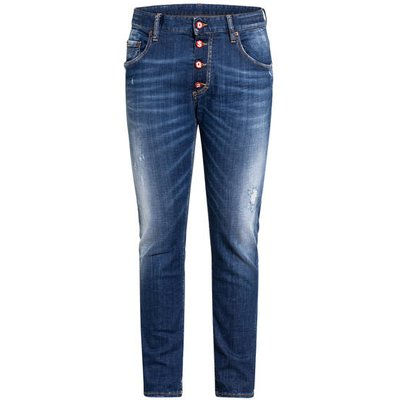 dsquared2 Destroyed Jeans Skater Slim Fit blau