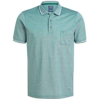 Olymp Piqué-Poloshirt Modern Fit gruen | OLYMP SALE