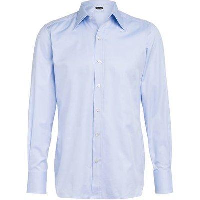 Tom Ford Hemd Slim Fit blau