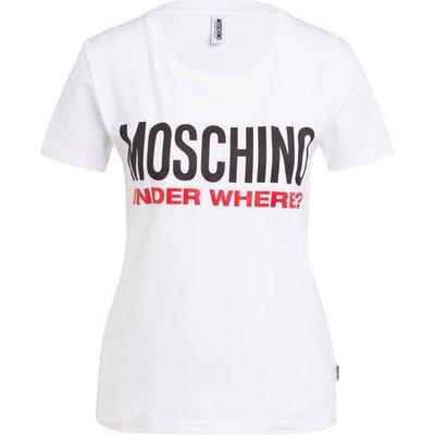 Moschino Lounge-Shirt weiss