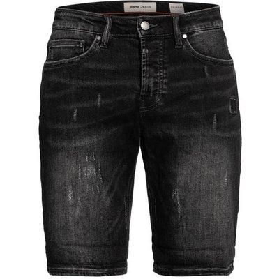 Tigha Jeans-Shorts Solomon Slim Fit grau
