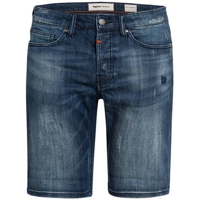 Tigha Jeans-Shorts Solomon Slim Fit blau