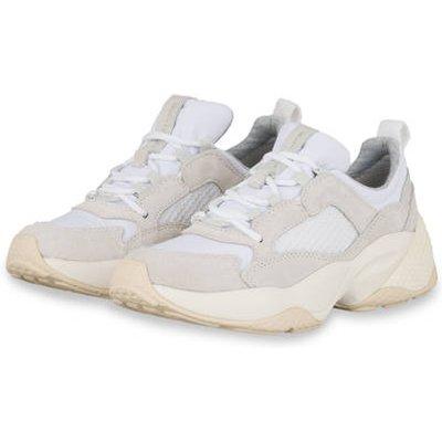 Marc O'polo Plateau-Sneaker weiss